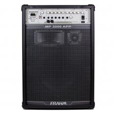 Caixa de Som Amplificada Multiuso Frahm - MP 3000 APP Bluetooth 1500W