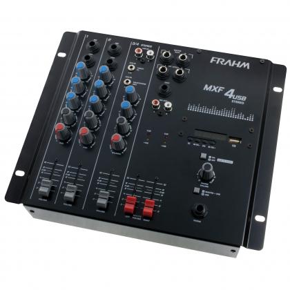 Mesa de Som Frahm - MXF 4 USB