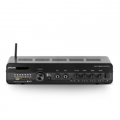 Amplificador - Receiver para Som Ambiente Frahm SLIM 3200 OPTICAL 200W