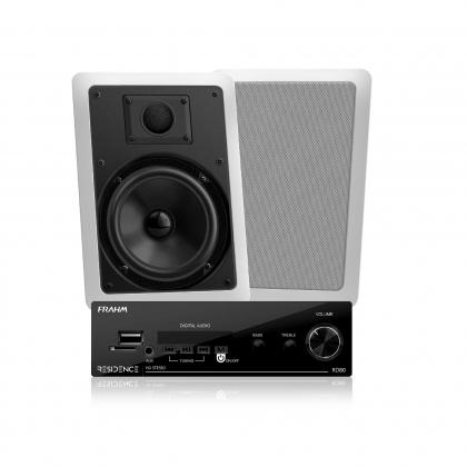 Kit para Som Ambiente Frahm - Kit Sonorização Residence AR Bluetooth