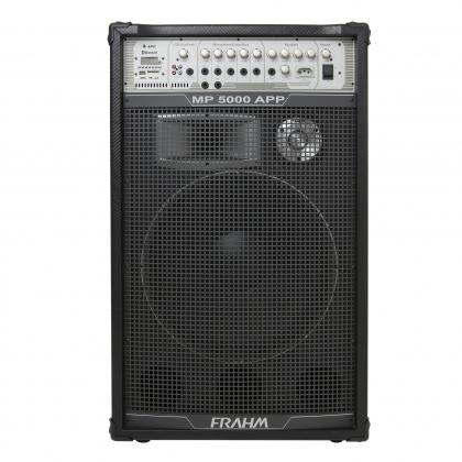 Caixa de Som Amplificada Multiuso Frahm - MP 5000 APP Bluetooth 2500W