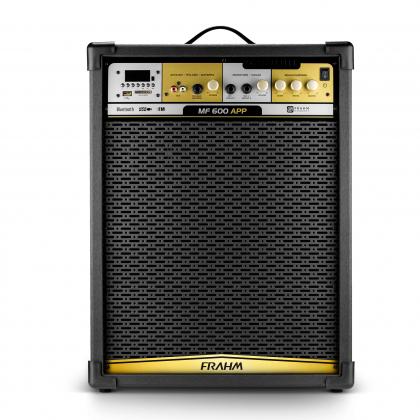 Caixa de Som Amplificada Multiuso Frahm - MF 600 APP 500W
