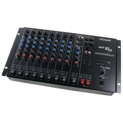 Mesa de Som Frahm - MXF 10 USB