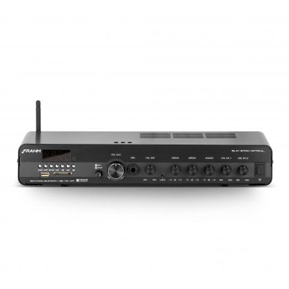 Amplificador - Receiver para Som Ambiente Frahm SLIM 3700 Optical