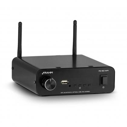 Amplificador - Receiver para Som Ambiente Frahm - RD60 Wifi Bluetooth