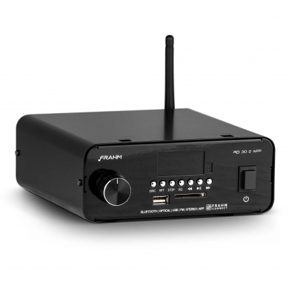 Amplificador - Receiver para Som Ambiente Frahm - RD 30.2 APP Bluetooth