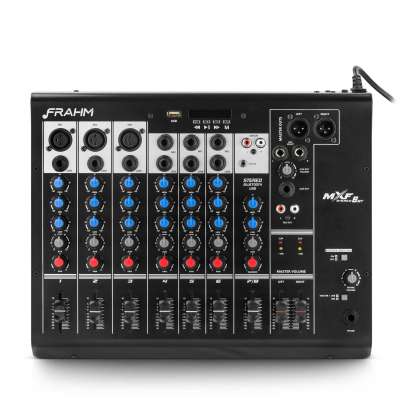 Mesa de Som Frahm - MXF 8 Bluetooth